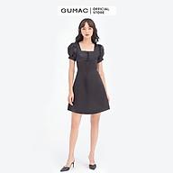 Đầm dáng xòe cổ vuông đan dây GUMAC DB667 thumbnail