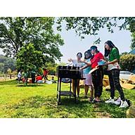 Bếp nướng than hoa Ck350,bếp nướng tiệc đứng dã ngoại ck350,bếp nướng dã ngoại thumbnail