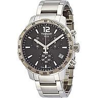 Tissot Men s T0954171106700 Quickster Stainless Steel Watch thumbnail