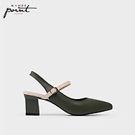 Giày nữ Cao gót quai hậu Monde Point MPWS06333 thumbnail