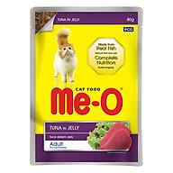 Đồ Ăn Mèo Sốt Me-O Hương Vị Cá Ngừ (80g) thumbnail