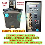 LOA KÉO 20 ( 2 TẤC ) BNIB T8 - LOẠI 2 TAY MIC - HÀNG CHÍNH HÃNG thumbnail