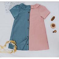 Đầm Suông Cổ Bèo Cao Cấp - LN87 (dành cho bé từ 10-25kg). thumbnail