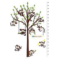 Decal Dán Tường Thước Đo Khỉ Con Binbin TD26 (182 x 125 cm) thumbnail