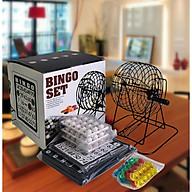 Đồ chơi lô tô bingo lồng sắt thumbnail