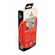 Dây sạc Micro-USB Zadez ZCC - MU07 - Hàng Chính Hãng thumbnail