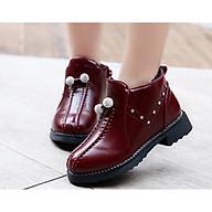 Giày boot ống bé gái châu pha lê SC005 thumbnail