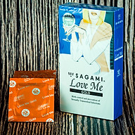 Bao Cao Su Sagami Love Me Gold - Mẫu Mới - Made In Japan - Hộp 10 Cái thumbnail