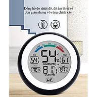 Nhiệt kế treo tường để bàn đo nhiệt độ, độ ẩm trong phòng model 3305F - Giao màu ngẫu nhiên thumbnail