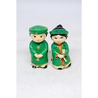 Cặp Tượng Cô Dâu và Chú Rể Việt Nam Mặc Áo Dài bằng đá với nhiều lựa chọn màu sắc thumbnail