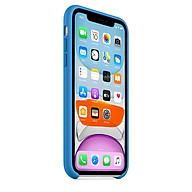 Ốp Lưng Apple Silicone Case Dành Cho iPhone 11 iPhone 11 Pro iPhone 11 Promax - Hàng Chính Hãng thumbnail