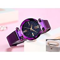 Đồng hồ nữ ( Tặng lắc tay ) thumbnail