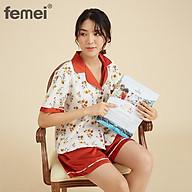 FEMEI - Bộ pyjama hoa nhí PNP021 LOCA SET PNP021 thumbnail
