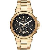 Michael Kors Men s Dylan Quartz Watch with Stainless Steel Strap, Gold, 26 (Model MK8731) thumbnail
