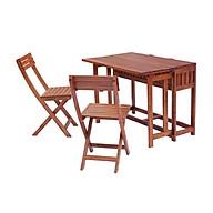 Bộ bàn Sangiang 2 ghế có hộc đựng đồ ngoài trời thumbnail