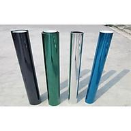 Combo 5m X 100cm decal FIlm cách nhiệt phản quang ( Bạc Xanh Lá Xanh Biển Đen ) thumbnail