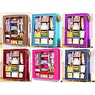 Tủ Vải Quần Áo 3 Buồng 8 Ngăn Cao Cấp, To, Bền Kèm Dụng Cụ Lấy Ráy Tai Có Đèn thumbnail