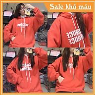Áo hoodie nỉ WILDONES màu cam nổi bật cá tính Nguyễn Hoa thumbnail