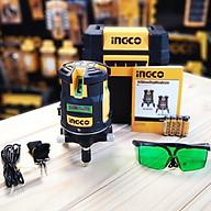 Máy đo mức cân bằng lazer (tia xanh) ingco HLL305205 thumbnail