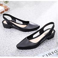 Dép sandal nữ đi mưa cao 3.5p nhiều màu mới nhất 241 thumbnail
