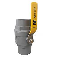 Van cầu xi Ngô Long Ân, Van PVC cầu xi con Rồng, Van nước PVC cầu xi Inox 304, Van PVC đúc khuôn chắc chắn, Van nhựa PVC tay Inox 304 chất lượng cao, an toàn. thumbnail