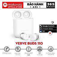 Tai Nghe Bluetooth Motorola Vervebuds 110 - Hàng Chính Hãng thumbnail