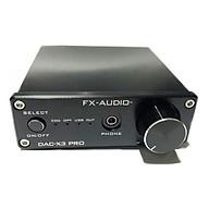 Bộ Giải Mã Âm Thanh DAC FX-Audio X3 Pro - Hàng Chính Hãng thumbnail