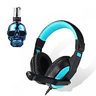 Tai nghe chụp tai kèm mic đàm thoại CT-770 dành cho game thủ chống nhiễu, chống ồn tốt + Tặng hộp quẹt bật lửa bay mặt ma cao cấp thumbnail