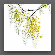 Tranh Hoa Muồng Hoàng Yến Canvas Treo Tường Decor Trang Trí Nghệ Thuật - Công Nghệ In UV Nhật Bản Màu Sắc Đẹp Rõ Nét thumbnail