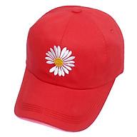 Mũ lưỡi trai thêu hoa cúc họa mi rơi cánh hot trend dành cho cả nam và nữ - Hạnh Dương thumbnail