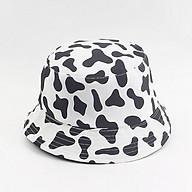 Nón bucket bò sữa ( ngựa vằn) - mũ tai bèo Ulzzang phong cách, cá tính thumbnail