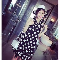 Đầm bầu chấm bi váy bầu chấm bi DN19072602 thumbnail