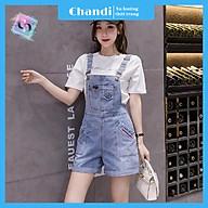 Yếm Jean Nữ Thương Hiệu Chandi, Yếm Nữ Quần cao cấp mẫu mới hot trend 2021 mã NT330 thumbnail