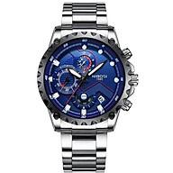 Đồng hồ nam NIBOSI chính hãng NI2322.02 tặng kèm pin dự phòng chính hãng - tặng dụng cụ tháo chốt và vòng tay phong thuỷ thumbnail