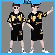Set Đồ Bé Trai phong cách hàn quốc, chất thun cotton mát mịn thấm hút mồ hôi, thời trang trẻ em thương hiệu BAW mã 150 thumbnail