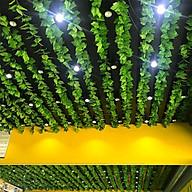 Combo 10 dây lá giả trang trí nội thất, sân vườn, quán cà phê, nhà hàng thumbnail