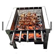 Bếp nướng than hoa vịt,gà thịt xiên nướng tự động thumbnail