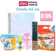 Quà tặng cho bé - Combo trẻ em Deli - Gồm 6 sản phẩm phiên bản giới hạn thumbnail
