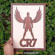 Tranh Treo Tường Bằng Gỗ Handmade DOHU014 Cristiano Ronaldo - Thiết Kế Đơn Giản, Độc Đáo, Sang Trọng thumbnail
