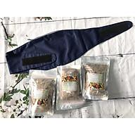 Combo 3 túi muối thảo dược(800gr Túi) chườm bụng sau sinh-Tặng kèm đai quấn muối thumbnail