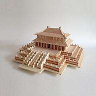 Đồ chơi lắp ráp gỗ 3D Mô hình Điện Thái Hòa thumbnail