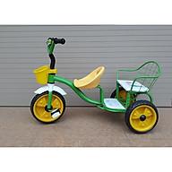 Xe đạp 3 bánh xích lô kéo (2 ghế) thumbnail