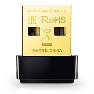USB mạng Wi-Fi băng tần kép - Archer T2U Nano - TP-Link T2U Nano - Bộ chuyển đổi USB Wi-Fi Nano AC600 - Hàng Chính Hãng thumbnail