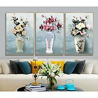 Decal dán tường bộ 3 ô tường lọ hoa đẹp Bo3BinhHienDai_005 thumbnail
