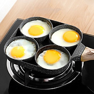 Chảo Rán Trứng 4 Lỗ - chảo chống dính - chảo độc đáo thumbnail