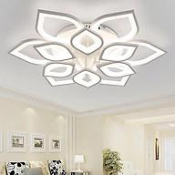 Đèn trần trang trí phòng khách LED 12 cánh sen 3 chế độ màu có điều khiển thumbnail