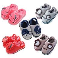 Giày sandal giữ ấm đế chống trượt cho bé trai và bé gái 1-3 tuổi hình nấm, mèo xinh xắn hàng mới về thumbnail