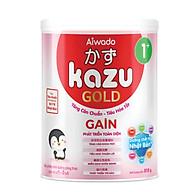 [Tinh tuý dưỡng chất Nhật Bản] Sữa bột KAZU GAIN GOLD 810g 1+ (từ 12 tháng đến 24 tháng) thumbnail