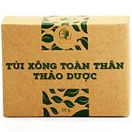 Túi Xông Toàn Thân Thảo Dược Sau Sinh, Thải Độc, Đẹp Da Wonmom 50gr (2 Túi Hộp) thumbnail