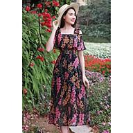 Đầm maxi hoa thumbnail